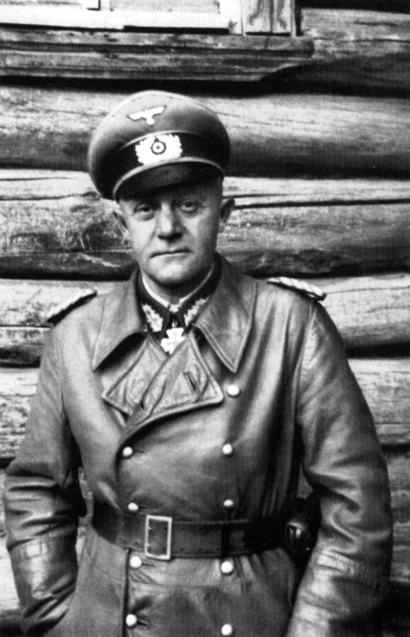 Paskutinis Karaliaučiaus tvirtovės komendantas generolas Otto Lasch