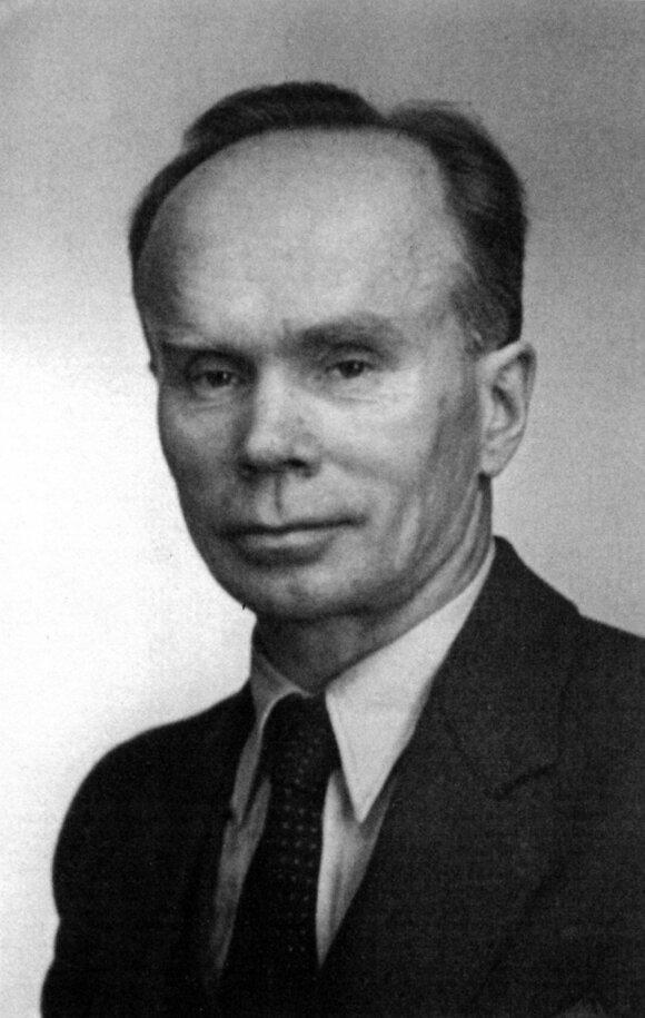 Ignas Šeinius. Stokholmas, 1940–1950 m. Iš Irvio Scheyniaus asmeninio archyvo.