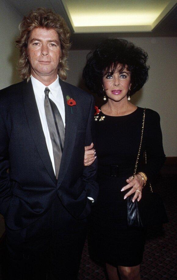 Elizabeth Taylor ir Larry Fortensky