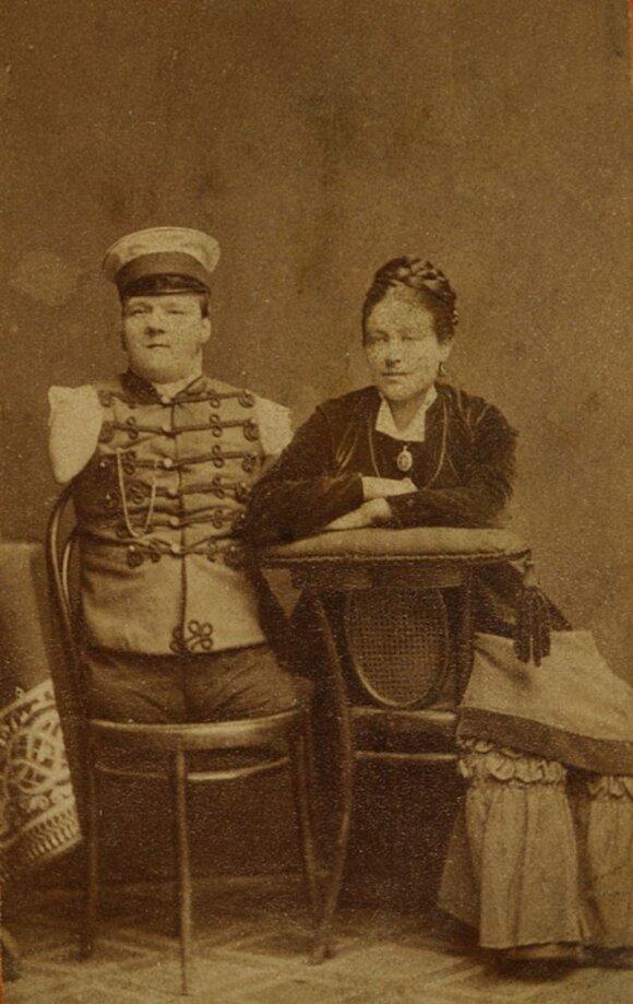 Nikolajus Kobelkovas su žmona
