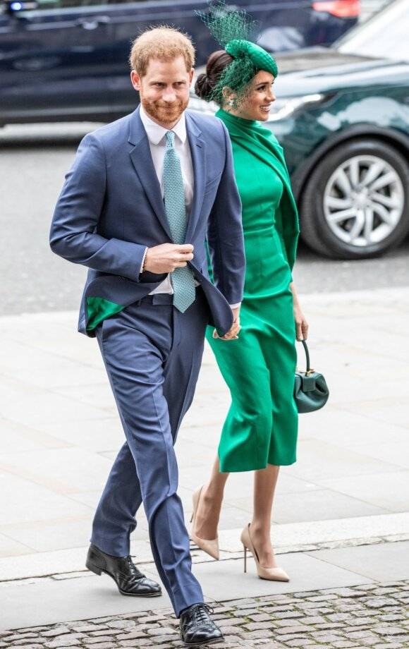 Harry ir Meghan Markle