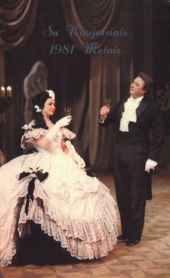 """Irena Milkevičiūtė, Virgilijus Noreika, """"Traviata"""""""