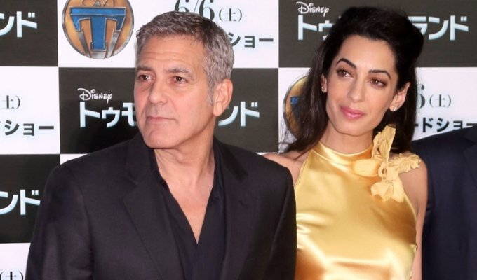 Filmo premjeroje visų žvilgsniai krypo tik į Amal Clooney FOTO