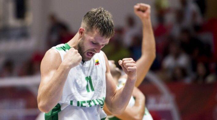 Lietuvos krepšininkai kurčiųjų olimpinėse žaidynėse iškopė į pusfinalį