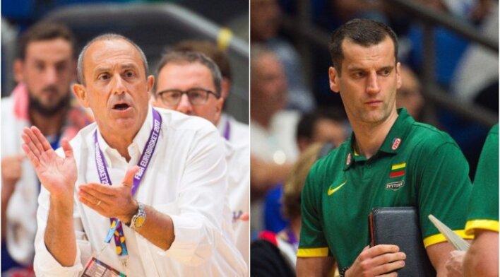 Ettore Messina (kairėje), Benas Matkevičius
