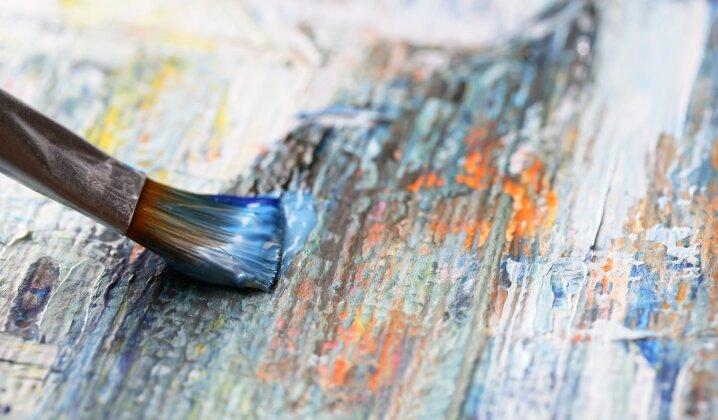Unikali galimybė pamatyti naujausius ar niekur neeksponuotus menininkų darbus