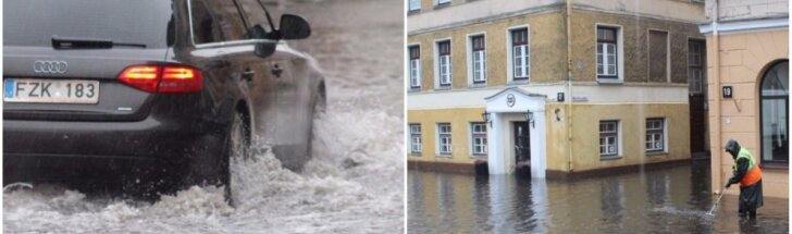 Lietuvą skandina potvyniai