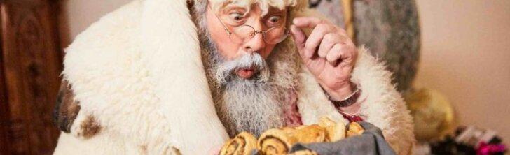 Vyriausiasis Lietuvos senelis Kalėda ligoninėje aplankė neišnešiotus kūdikius