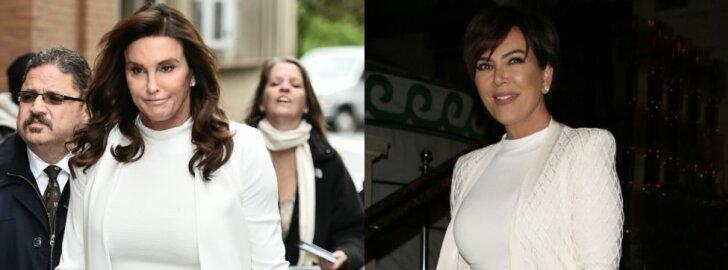Caitlyn ir Kris Jenner