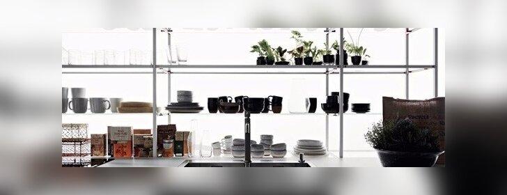 Ar mobilūs ir atviri baldai – virtuvės ateitis?