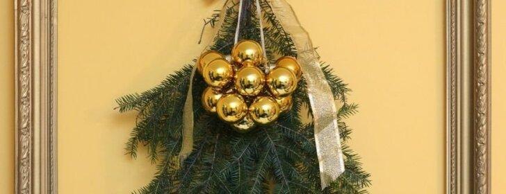 Kalėdinis interjeras: kaip sukurti šventinę nuotaiką, jei eglė netelpa jūsų namuose