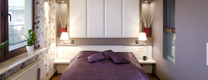 Kaip įrengti mažą miegamąjį?