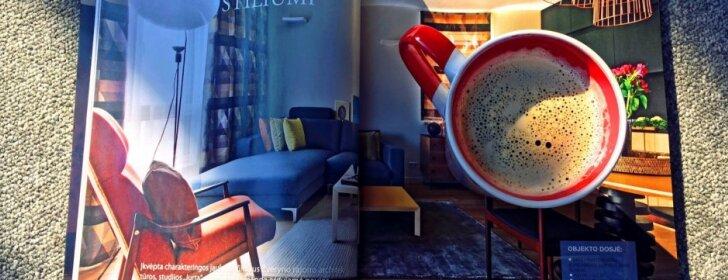 Už kavos puodelio nuotrauką - kvepiantys prizai