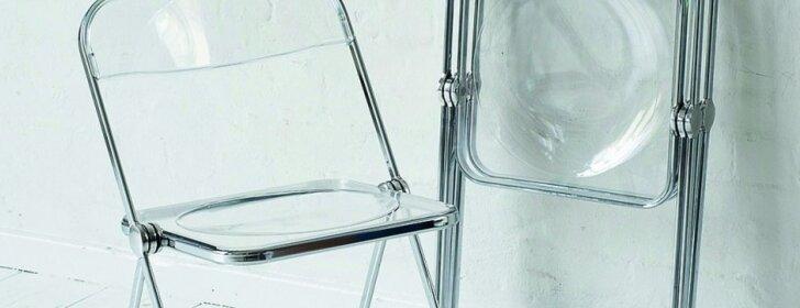 """Dizaino klasika: genialiai paprasta sudedamoji kėdė """"Plia"""""""