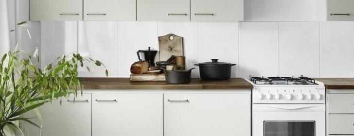 """<span style=""""color: #ff0000;"""">PRIEŠ ir PO:</span> nauja perdažyta virtuvė – per 3 dienas"""