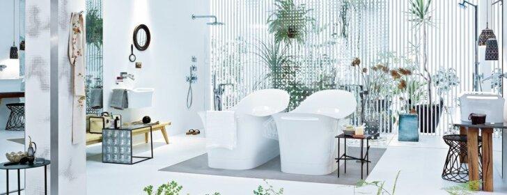 Kaip pakeisti nusibodusį vonios kambarį?