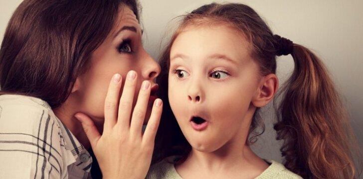 Kaip prakalbinti vaikus po dienos mokykloje?