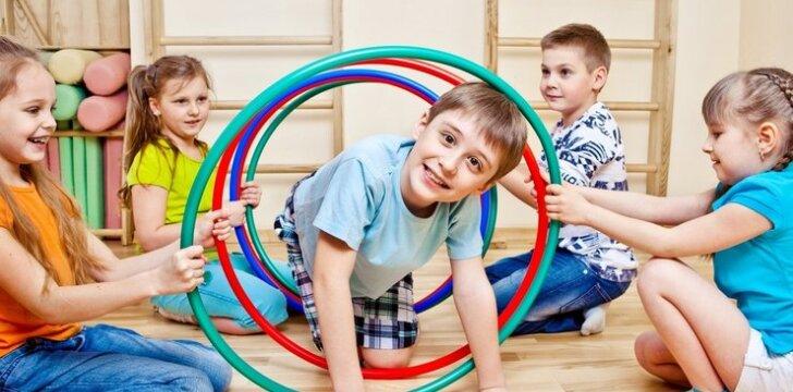 Vaikų darželis, kuriame auga sveiki vaikai