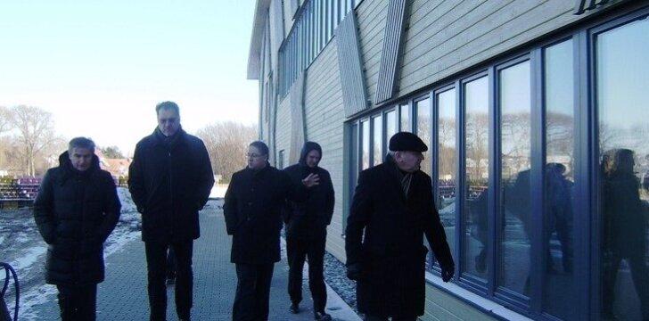 Palangos miesto savivaldybėje lankėsi LKF atstovai