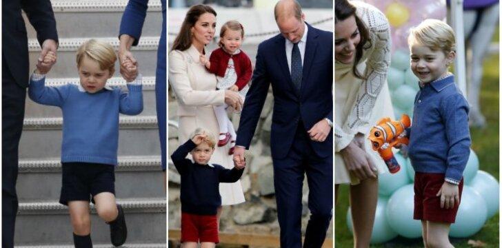4 priežastys, kodėl Kate Middleton mažylius George'ą ir Charlotte visuomet rengia taip pat