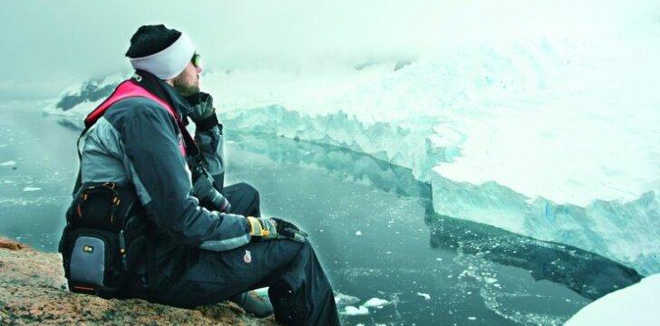 Lietuvių keliautojai: kelionė į Antarktidą primena skrydį į Mėnulį