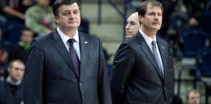 Aco Petrovičius ir Gintaras Krapikas