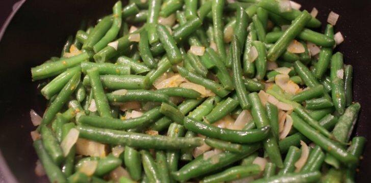 Šparaginių pupelių troškinys