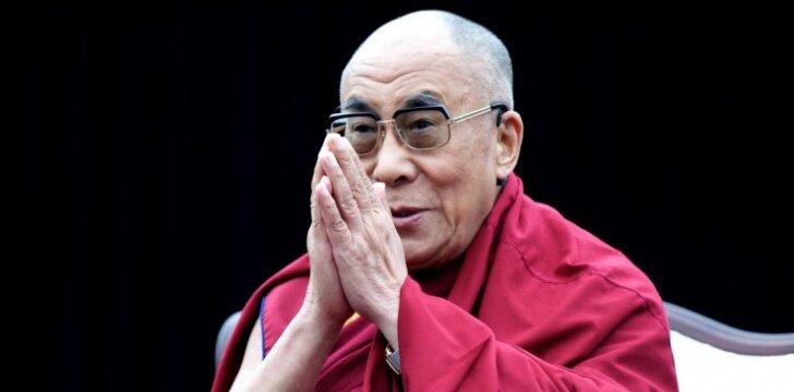 Lietuvą ir lietuvius 100-mečio proga sveikins Jo Šventenybė Dalai Lama XIV