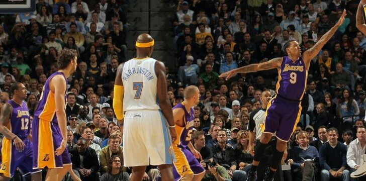"""Carmelo Anthony (""""Nuggets"""") metimas"""