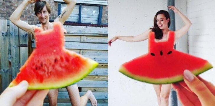 """""""Instagramas"""" pakvaišo dėl arbūzinių suknelių. Dar neturi nuotraukos? Atsilieki!"""
