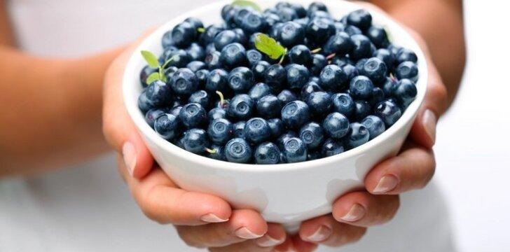 """Mėlynių panna cotta <sup><span style=""""color: #ff0000;"""">mamos receptas</span></sup>"""