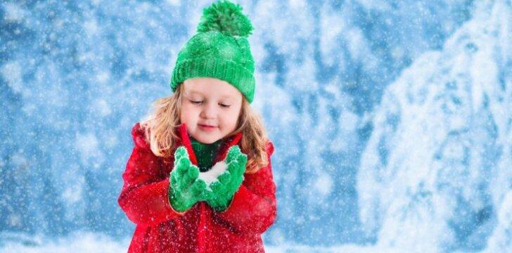 Pirmojo žiemos savaitgalio renginiai šeimoms su vaikais