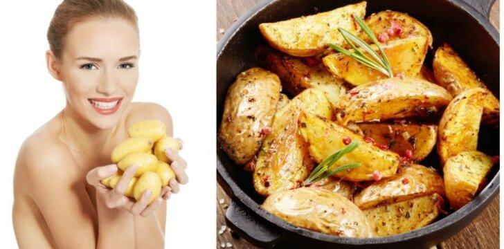 """Skaniausia pasaulyje bulvių dieta: kaip numesti 3 kg per 3 dienas! <strong style=""""color: #ff0000;"""">(Specialus mitybos planas)</strong>"""