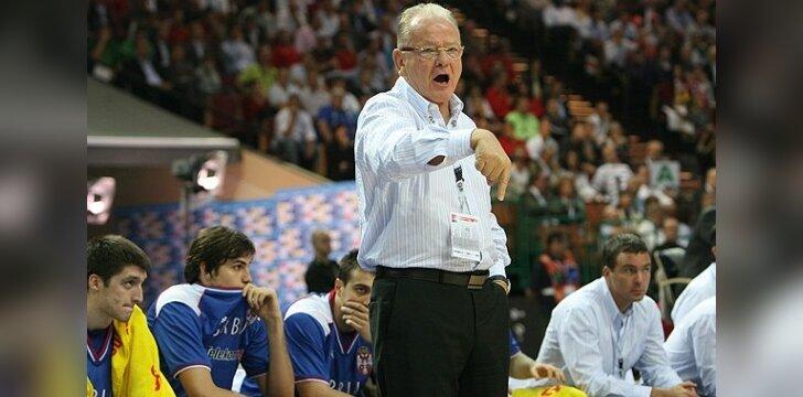 """Spauda: """"Olympiakos"""" klubo treneriu taps serbas D.Ivkovičius"""