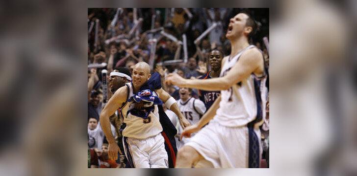 """""""Nets"""" krepšininkai džiaugiasi pergale"""