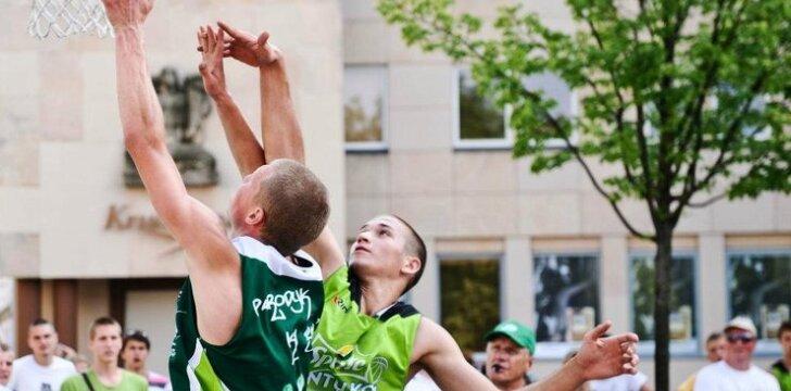 Jaunieji krepšinio talentai savaitgalį varžėsi Vilniuje ir Druskininkuose