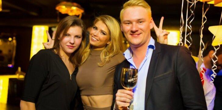 Jolanta Leonavičiūtė naktiniame klube