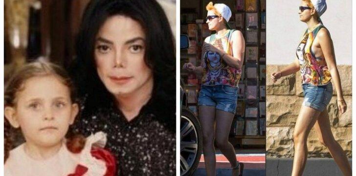 """Kaip dabar <span style=""""color: #c00000;"""">atrodo Michaelo Jacksono</span> dukra Paris"""