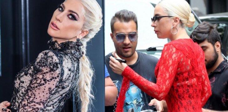 """Lady Gaga, kas pasidarė? Net patys pakančiausi """"monstriukai"""" netoleruos tokio aprangos stiliaus (FOTO)"""