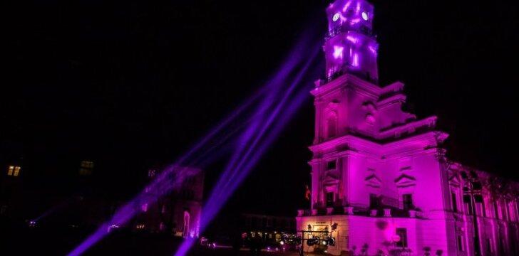Pasaulinę neišnešiotų naujagimių dieną Kauno Rotušė nušvis purpurine spalva