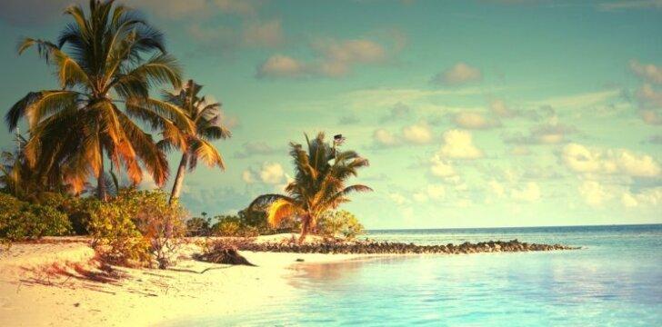 Maldyvai, paplūdimys