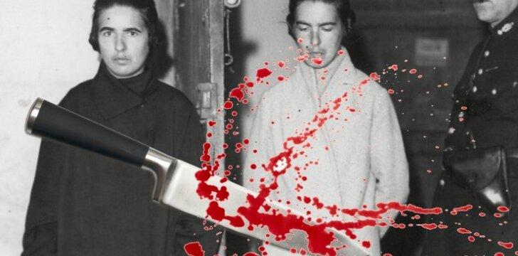 Kraujo ištroškusios seserys Papin: kraupi žmogžudystė, sukrėtusi visą Prancūziją