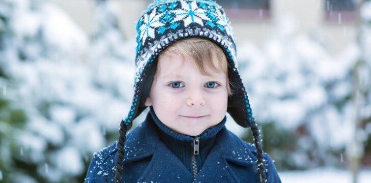 Kaip žiema veikia vaikų akis?