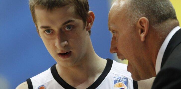 Dmitrijus Chvostovas ir Rimas Kurtinaitis