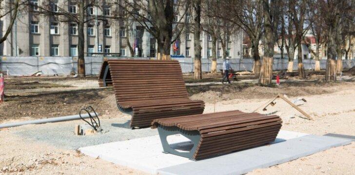 Rekonstruojama Lukiškių aikštė