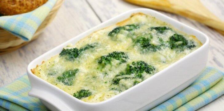 Brokolių ir žiedinių kopūstų užkepėlės