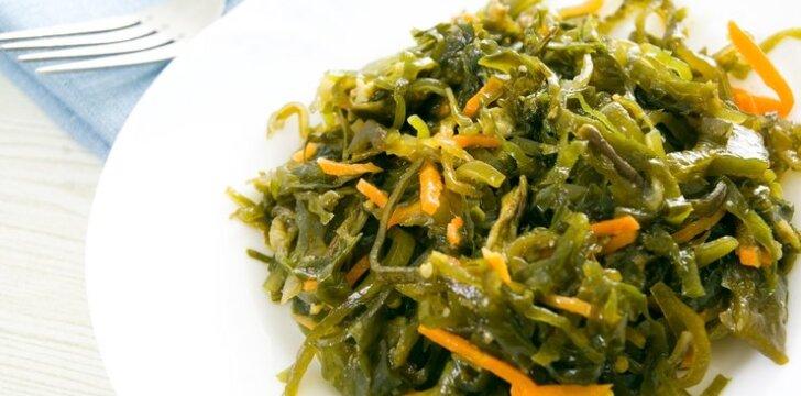 Морская капуста корейски рецепт фото