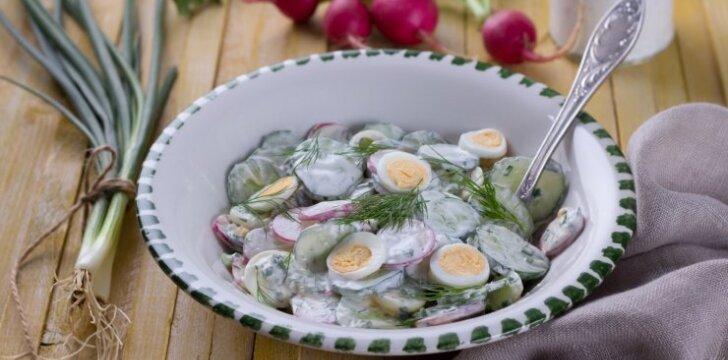 Ridikėlių salotos