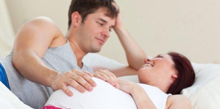 Tai, ko nedrįstate paklausti apie seksą nėštumo metu