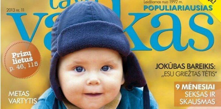 Lapkričio TAVO VAIKO žurnalas - net 124 puslapių!